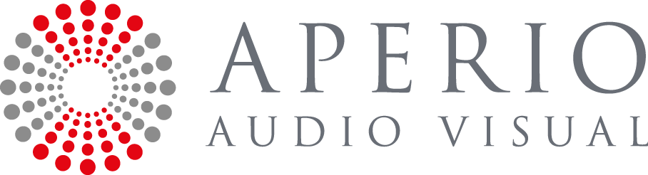 Aperio Audio Visual Logo
